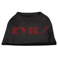 Mirage Pet Products 5228 XXXLBK Evil Rhinestone Shirts Black XXXL 20