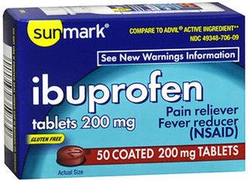 Sunmark Ibuprofen, 200 mg, 50 tabs by Sunmark