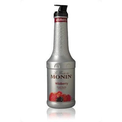 Monin Fruit Puree, Wildberry, 33.8 Ounce Bottle