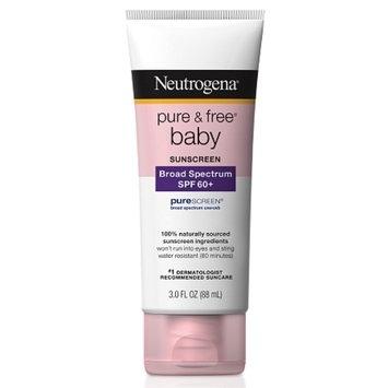 Neutrogena Pure & Free Baby Sunblock SPF 60+
