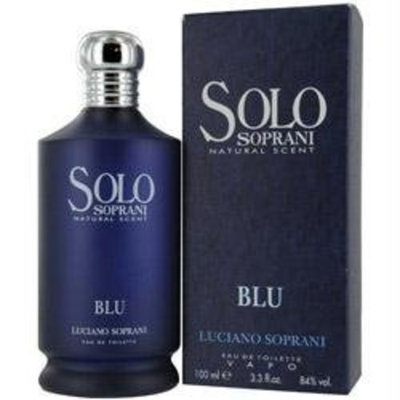 SOLO SOPRANI BLU by Luciano Soprani for MEN: EDT SPRAY 3.4 OZ