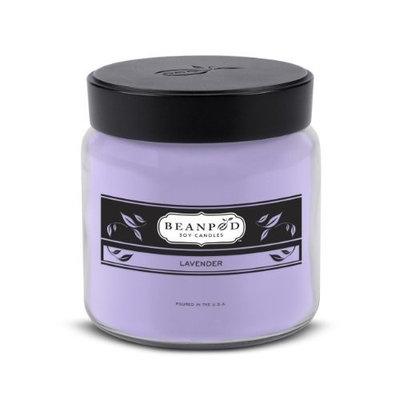 Beanpod Candles, Lavender, 16-Ounce