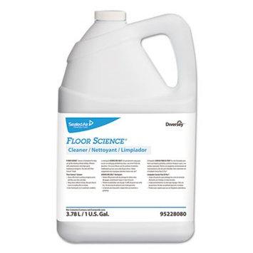 Floor Science Cleaner, 1 gal Bottle, 4/Carton