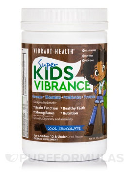 Super Kids Vibrance, Chocolate Vibrant Health 10.89 oz Powder