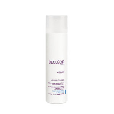 Decleor Aroma Cleanse 3in1 Hydra-Radiance Smoothing & Cleansing Mousse, 6.7 oz