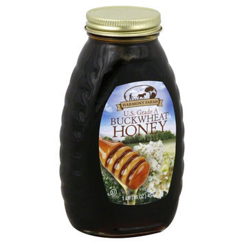 Harmony Farms Honey Buckwheat 16 Oz Pack Of 6