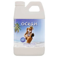 OCEAN 64 oz DARK TINT Tanning 12% DHA Tan Solution Airbrush Spray Sunless