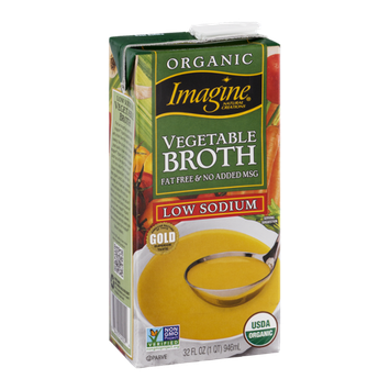 Imagine Vegetable Broth Low Sodium