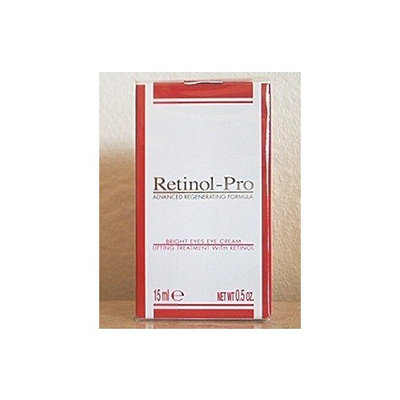 Retinol Pro Retinol-Pro Advanced Regenerating Formula Bright Eyes Cream - 0.5 oz. Made in Italy