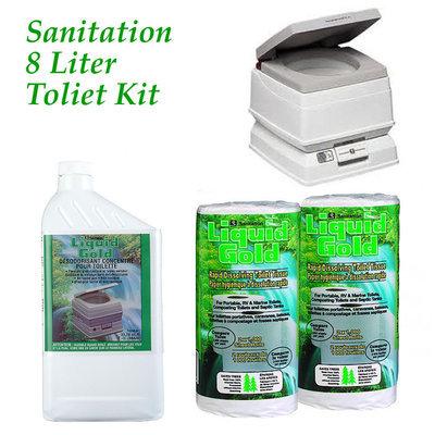 Sanitation Equipment Sanitation Equiptment Passport 8-liter Sanitation Kit
