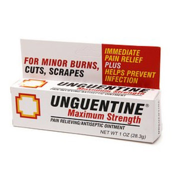 Unguentine Pain Relieving Antiseptic Ointment