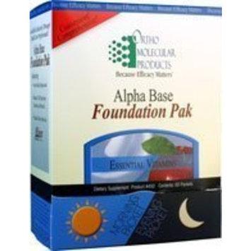 Ortho Molecular - Alpha Base Foundation Pak 60 packets