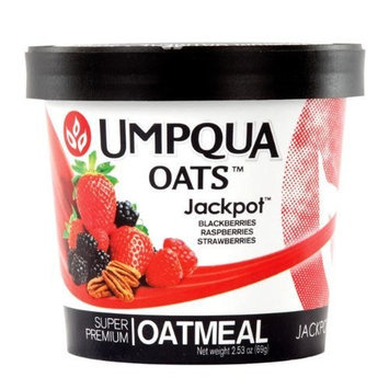 Umpqua Oats Jackpot All Natural Oatmeal, 2.53 Ounce (Pack of 12)