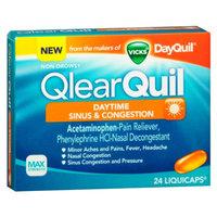 Vicks QlearQuil Sinus & Congestion Daytime Liquicaps, 24 ea