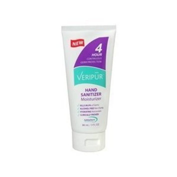 Beripur Veripur Hand Sanitizer Moisturizer 3 oz Unscented