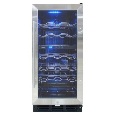 Vinotemp 32 Bottle Wine Cooler with Interior Display