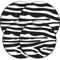 Range Kleen Burner Kovers Round In the Wild - Zebra