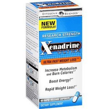 Xenadrine Ultra Research Strength Weight Loss Supplement Rapid-Release Capsules, 60 capsules (Pack of 1)