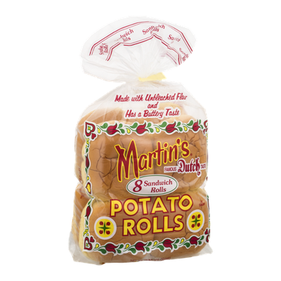 Martin's Potato Sandwich Rolls - 8 CT