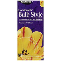 Faultless by Apotthecary Products Faultless Goodhealth Bulb Style Feminine Douche System, 1-count