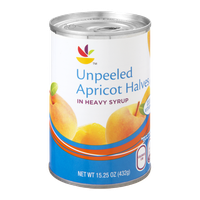 Ahold Apricot Halves Unpeeled in Heavy Syrup