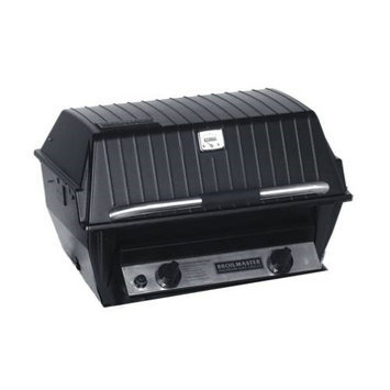 Broilmaster R3B Liquid Propane Infrared Combination Gas Grill with 1 20 000 BTU's Infrared Burner and 1 18-20 000 BTU's Blue Flame