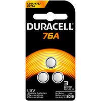 Duracell Alkaline 76A Battery, 2-Count