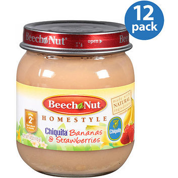 Beech-Nut Stage 2 Homestyle Chiquita Bananas & Strawberries Baby Food