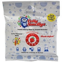 Celly Smellys Cleaning Wipe - Berry Scent (case of 6)