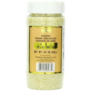 Shirakiku Sesame Seed Hulled White, 8.5-Ounce Units (Pack of 12)