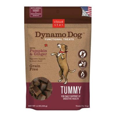 Cloud Star Dynamo Dog Functional Treats: Tummy, Pumpkin & Ginger, 14 oz