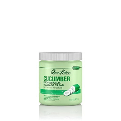 Queen Helene Professional Massage Cream, Cucumber, 15 Ounce Packaging May Vary