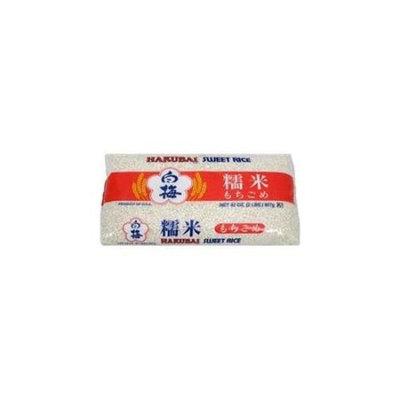 Hakubai Mochi Gome Sweet Rice 2 LB -Pack of 12