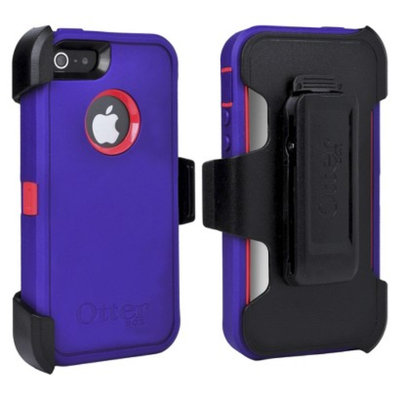 Otterbox Defender Cell Phone Case For iPhone 5/5s - Purple (41946TGR)
