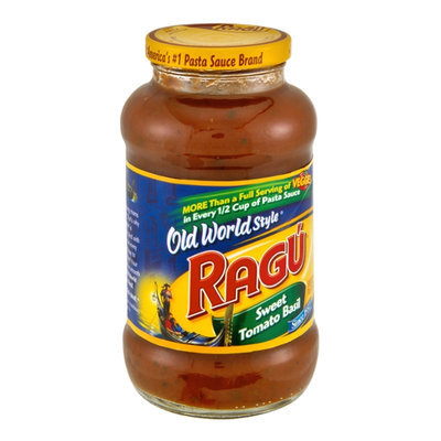 Ragu Old World Style Sweet Tomato Basil Pasta Sauce