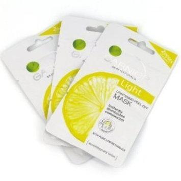 Garnier Skin Naturals Light Lightening Peel-Off Mask 3 Pack