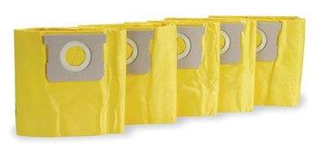 DAYTON 1UFP3 Filter Bag, Paper,4 qt, PK5