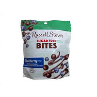 Russell Stover Sugar-Free Dark Choc Bites Resealable Bag, Orange, 5 Ounce []