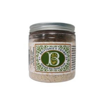 Brittanie's Thyme Mindful Beauty Organic Almond Oatmeal Facial Scrub (4 Oz)