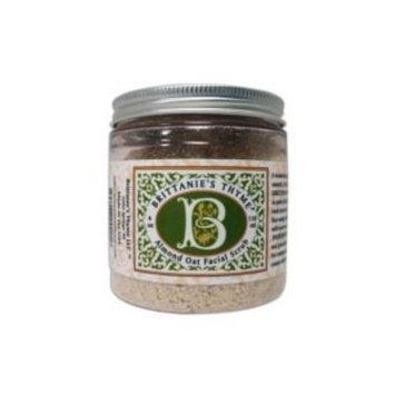 Brittanie's Thyme Mindful Beauty Organic Almond Oatmeal Facial Scrub (4 Oz)