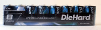 Diehard DieHard 8 pack D size Alkaline battery