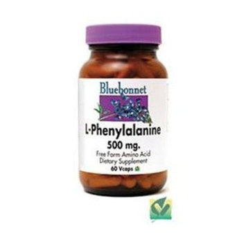 L-Phenylalanine 500mg Bluebonnet 60 Caps