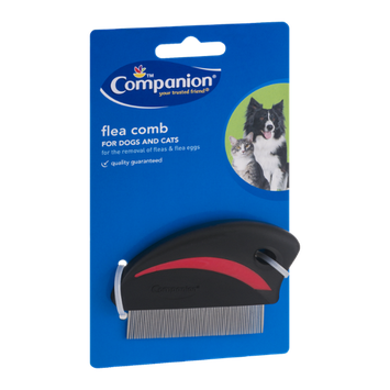 Companion Flea Comb for Dogs and Cats