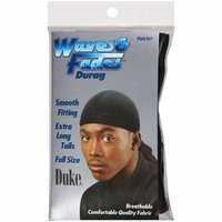 Duke Waves & Fades Black Durag