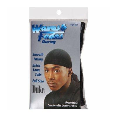 Duke Waves & Fades Black Durag