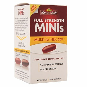 Nature Made Multivitamin for Her 50+ Mini