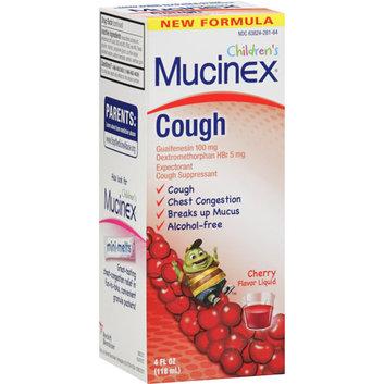 Mucinex Children's Expectorant/Cough Suppressant Cherry Flavor Liquid