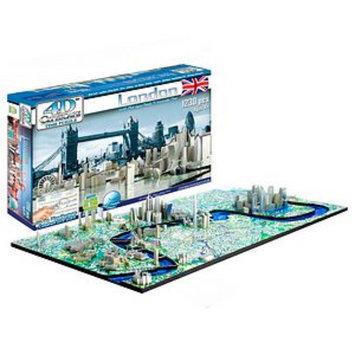 4D Cityscape 4D London Skyline Time Puzzle