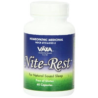 Vaxa International - Nite-Rest, 60 capsules