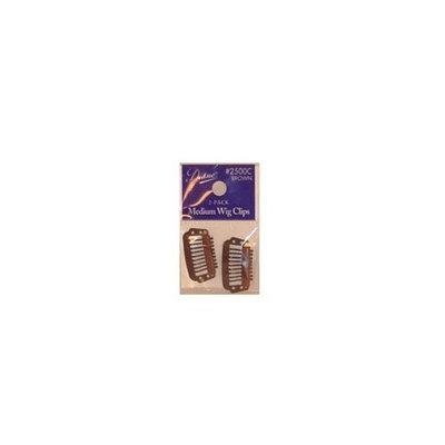Diane Medium Brown Wig Clips (2-pack)